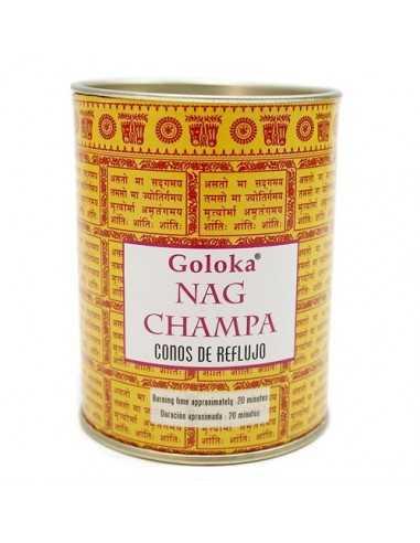 Conos de reflujo Goloka Nag Champa