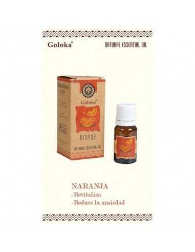 Aceite esencial natural Naranja Goloka