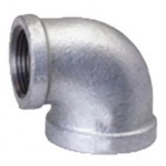 Codo 90º H hierro galvanizado