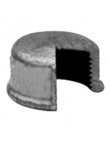 Tapón H hierro galvanizado