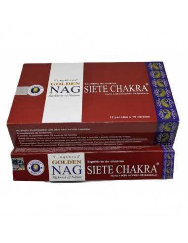 Golden Nag Siete Chakras