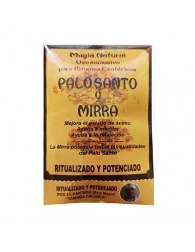 Palo Santo ritualizado con Mirra