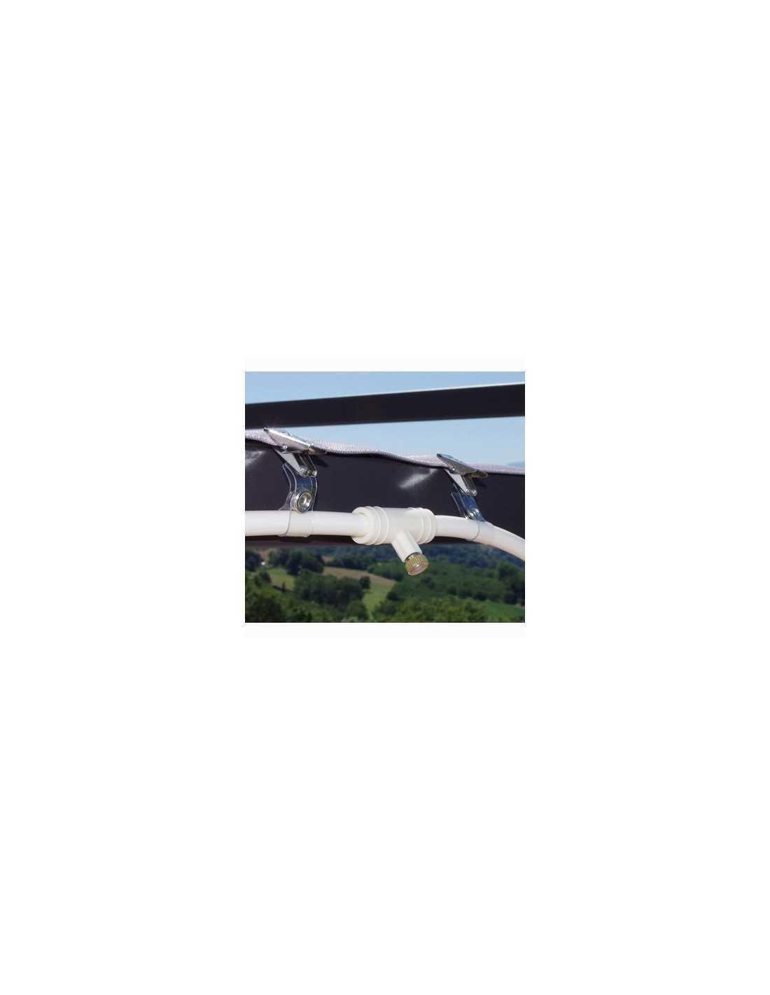 Manguito hierro galvanizado mercagarden for Casetas de hierro galvanizado