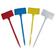 Etiqueta pincho de colores