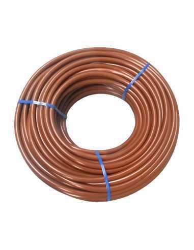 Microtubo marrón 4 X 6 mm 25 mts