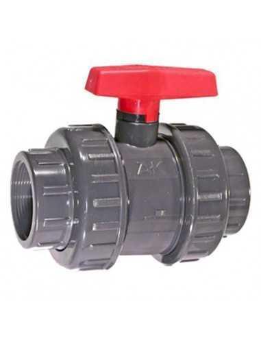 Válvula esfera PVC roscar