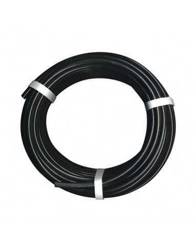 Microtubo negro 4,5 X 6,5 mm 50 mts