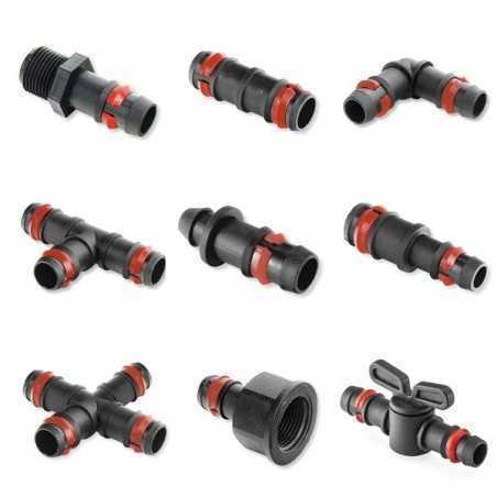 Accesorios 16 mm con anilla seguridad