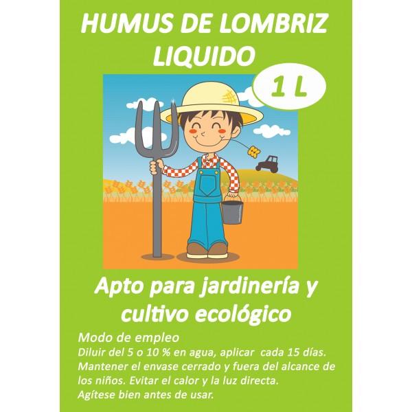 humus de lombriz liquido